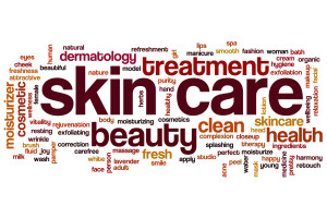 skin care words
