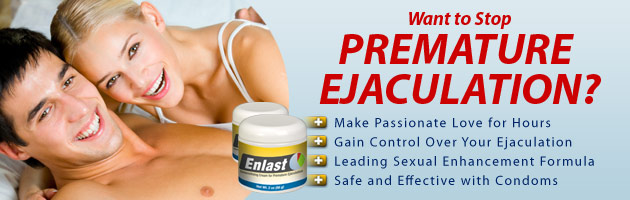 stop premature ejaculation with enlast